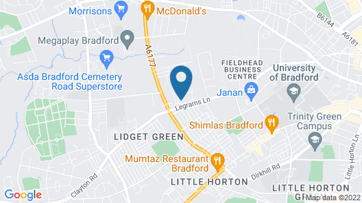 Livit Serviced Apartments Map