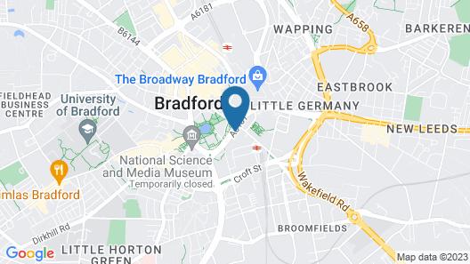 The Bradford Hotel Map
