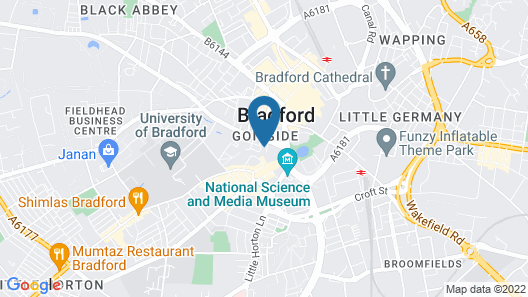 Albion Apartments Map