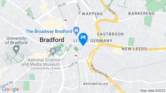 Alluring Home in Bradford Near University of Bradford Map
