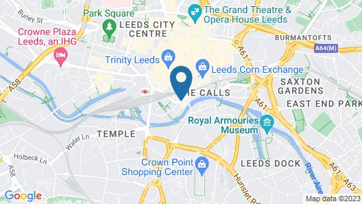 Malmaison Leeds Map