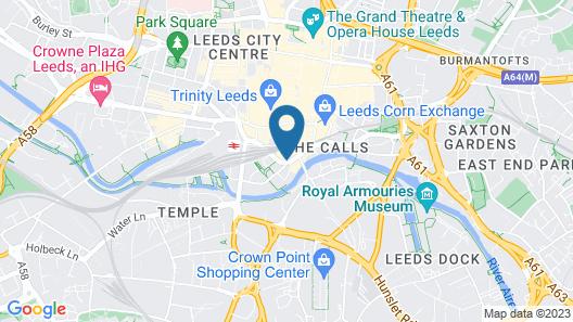 Roomzzz Leeds City Map