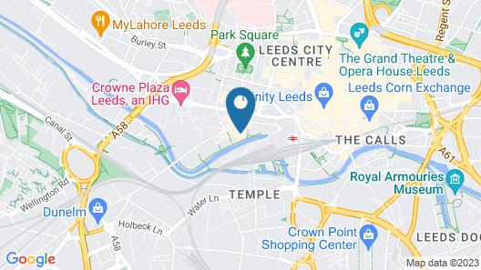 Novotel Leeds Centre Map