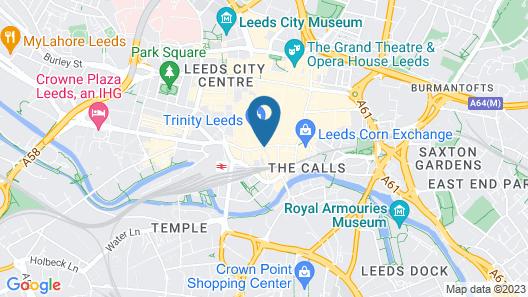 Leeds Marriott Hotel Map