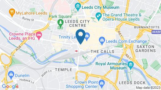 Park Plaza Leeds Map