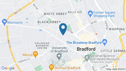 Trivelles - Bradford - Sunbridge Road Map