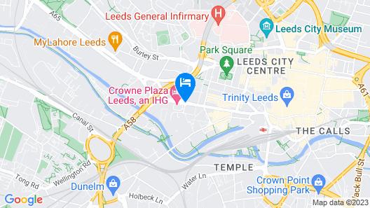 Crowne Plaza Leeds Map