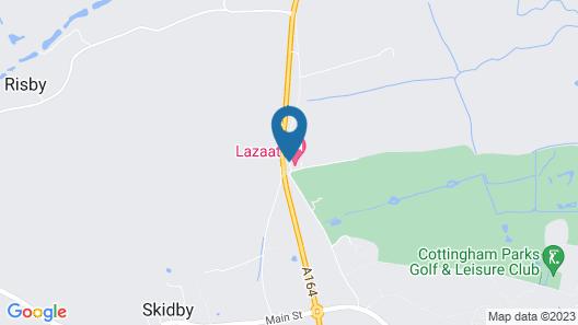 Lazaat Hotel Map