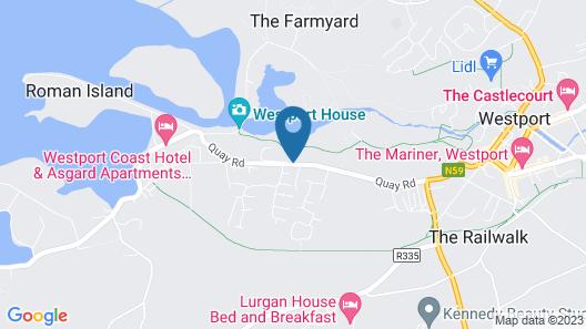 Quay West Map