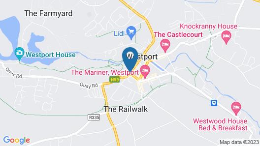 The Wyatt Hotel Map