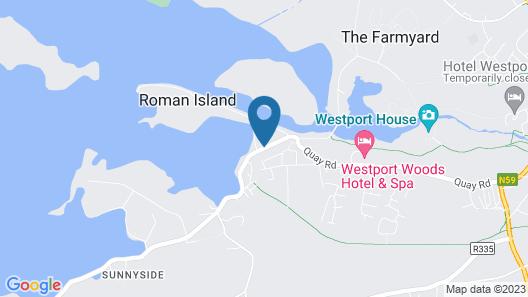 Westport Coast Hotel Map