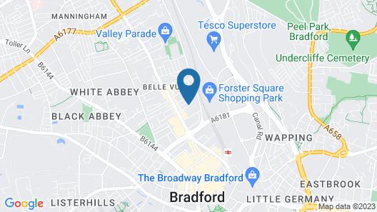 Fantastic Bradford Townhouse 6 bedrooms Map