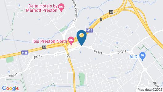 ibis Preston North Map