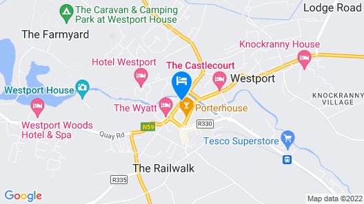 Clew Bay Hotel Map