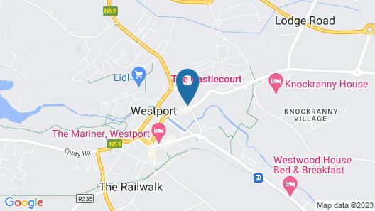 Castlecourt Hotel Map