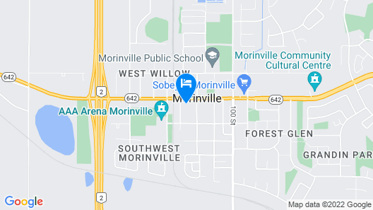 Morinville Plaza & Suites Map
