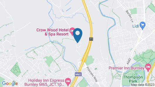 Crow Wood Hotel & Spa Resort Map