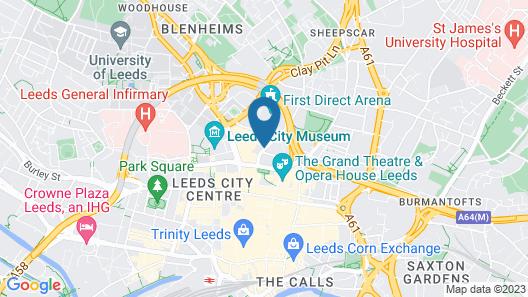 ibis Styles Leeds Centre Arena Map