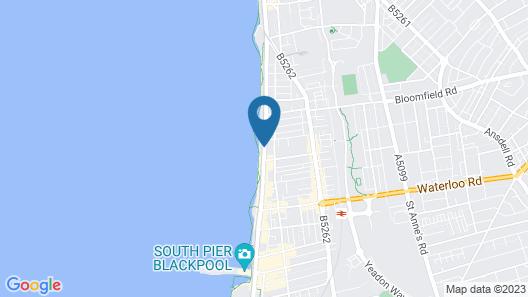 The Sandford Promenade Hotel Map