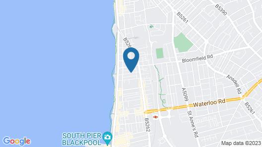 Touchwood Hotel Map