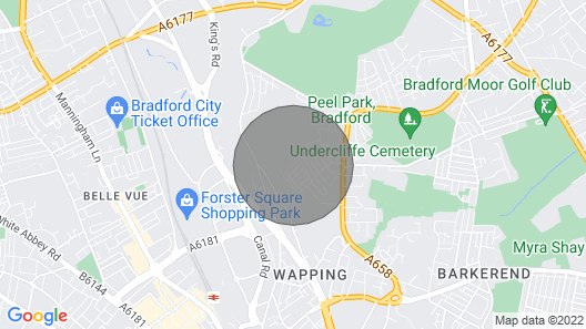 Stayzo - Westminster Place - Deep Cleaned, Near City Centre Map