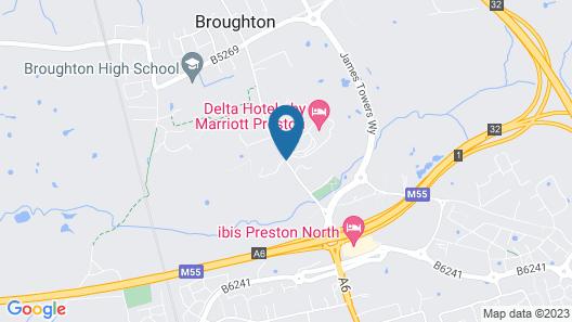 Preston Marriott Hotel Map