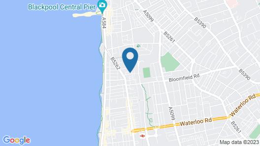 The Clarendon Showtel Map