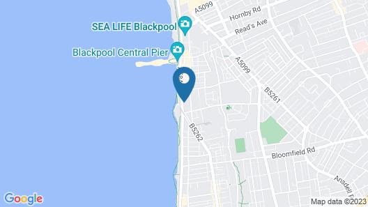 Balmoral Hotel Map