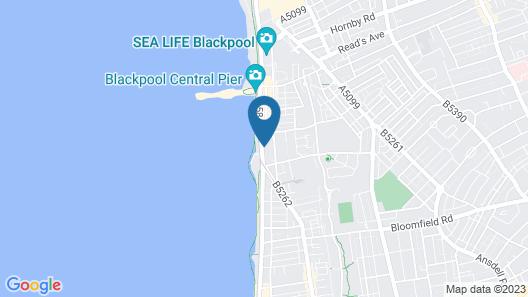 The Craig-Y-Don Hotel Map