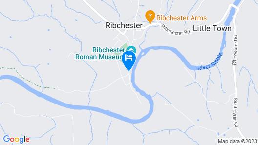 Riverside Barn Guest House Map