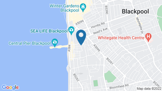 Central Cove Guesthouse Map