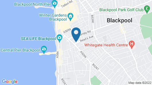 Reads Court Holiday Apartments Map
