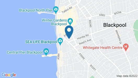 Albion Hotel Map