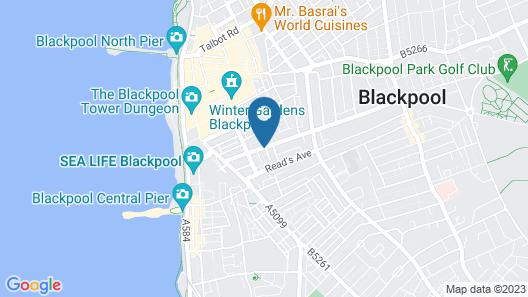 Barrons Hotel Map