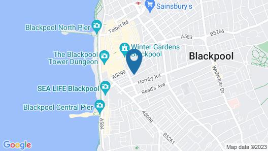 Jesmond International Hotel Map