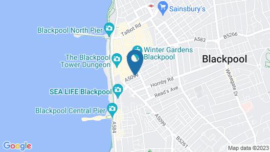 The Calypso Hotel Map
