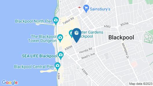 The Royal Alexandra Hotel Map