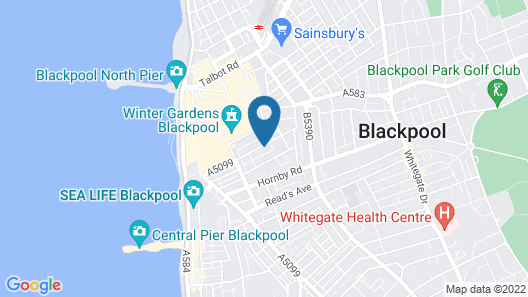 The Feathers Hotel Map