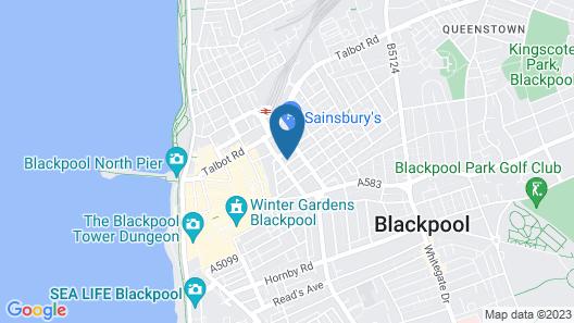 Empire Blackpool Apartments - Charles Street Map