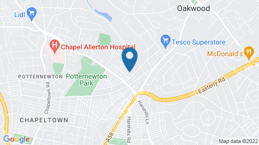 CHAPEL ALLERTON LODGE Map