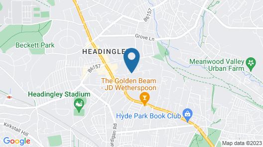 Haley's Hotel & Restaurant Map