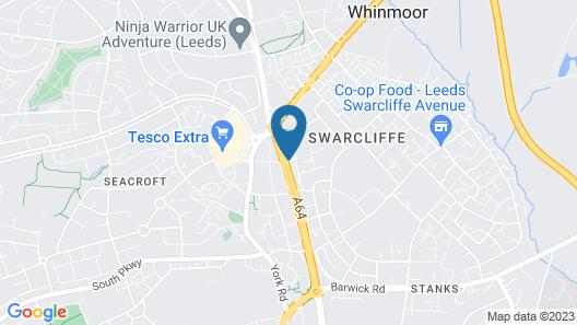 Britannia Hotel Leeds Map