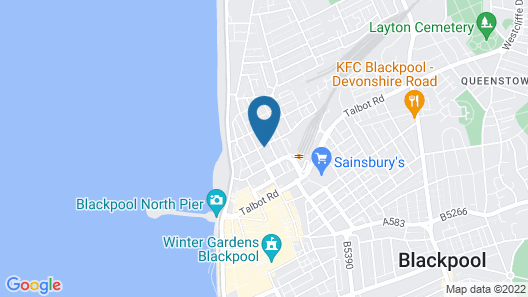 Graydon Hotel Map