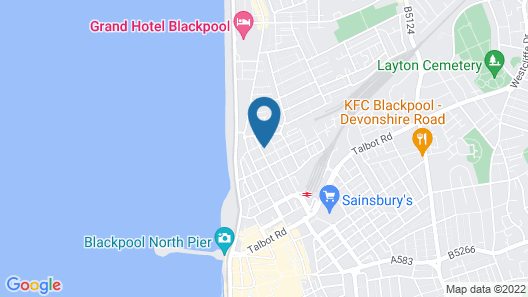 Scarlets Hotel Map