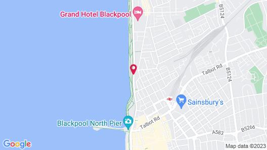 Tiffanys Hotel Map
