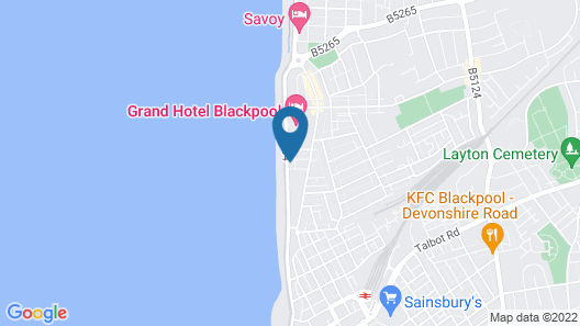 The President Hotel Map