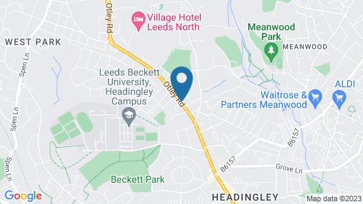 Ascot Grange Hotel - Voujon Restaurant Map