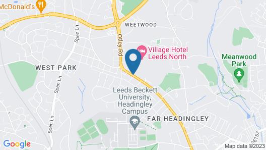 Village Hotel Leeds North Map