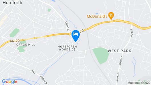 1 Bedroom for up to 2 People North Leeds Map