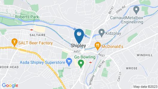 ibis Bradford Shipley Map